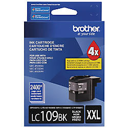 Brother LC109BK High Yield Black Ink