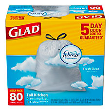 Glad Tall Kitchen OdorShield Trash Bags
