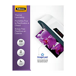 Fellowes Bulk Laminating Pouches 9 12