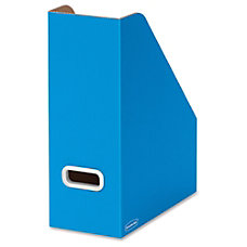Bankers Box PREMIER Magazine File Blue
