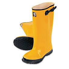 R3 Safety Rubber Overshoe Boots Size