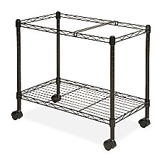 Lorell Mobile File Cart 4 Casters