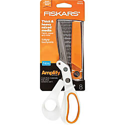 Fiskars Amplify Mixed Media Shears 8