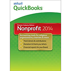 QuickBooks Premier Nonprofit 2014, Download Version