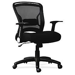 Lorell Flipper Arm Mid back Chair