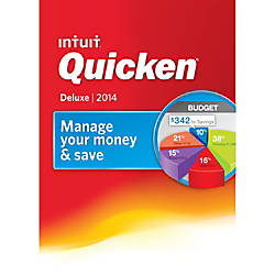 Quicken 2014 Deluxe, Download Version