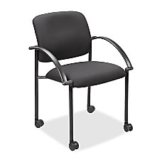 Lorell Stacking Guest Chair With Arms