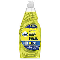 Dawn Manual PotPan Detergent Liquid 030