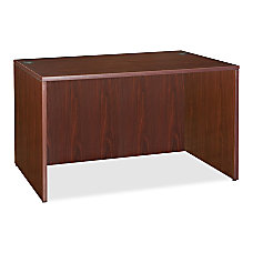 Lorell Essentials 69000 Series Desk Mahogany