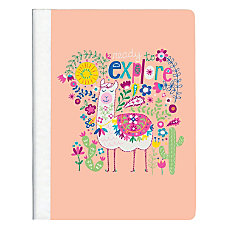 Top Flight Explore Fashion Composition Notebook