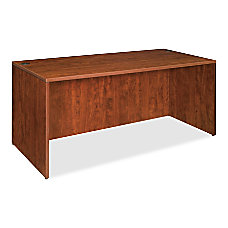 Lorell Essentials 69000 Series Desk Cherry