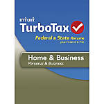 TurboTax Home Business Fed Efile State