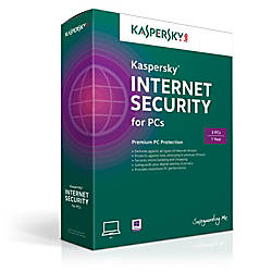 Kaspersky Internet Security 3 user 1 year (Windows), Download Version