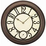 TEMPUS 16 Metal Wall Clock Antique