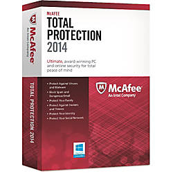 Mcafee Total Protection 2014 1 User Download Version By