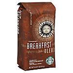 Starbucks Breakfast Blend Coffee 1 Lb