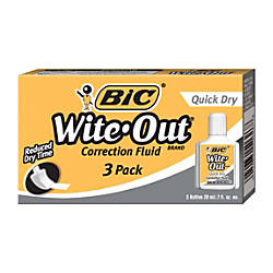 BIC Wite Out Correction Fluid With