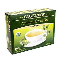 Bigelow Tea Bags Premium Organic Green