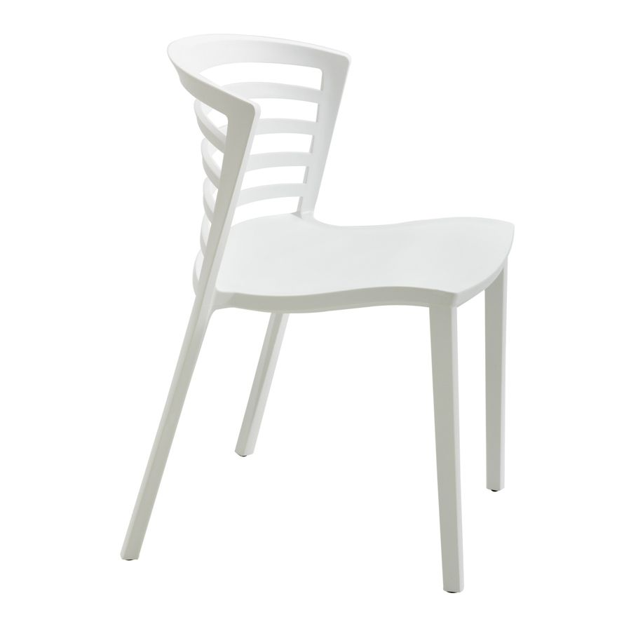 Safco Entourage Stackable Chairs 30 H x 19 12 W x 21 12 D White