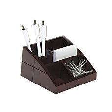 Realspace Wood Desk Organizer 4 x