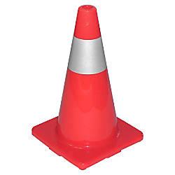 TATCO Sturdy Molded Reflective Traffic Cone