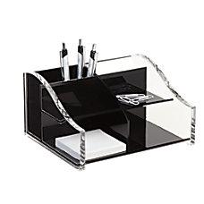 Realspace Acrylic Desk Organizer 4 516