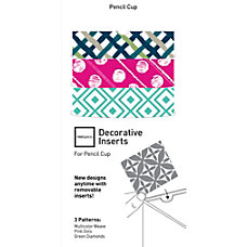 Realspace Acetate Film Refill Pencil Cup