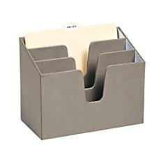 Realspace 3 Tier Fabric File Sorter