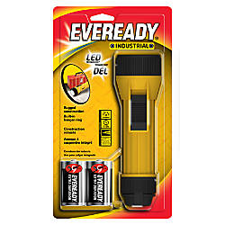 Eveready Industrial LED Flashlight Yellow