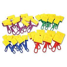 ChenilleKraft Foam BrushesRollers Classroom Pack Plastic