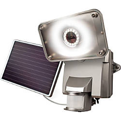 Maxsa Motion Activated Solar Security Floodlight