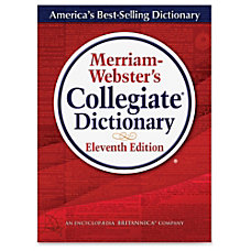 Merriam Webster 11th Ed Collegiate Dictionary