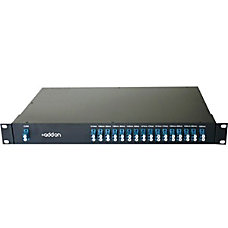 AddOn 16 Channel DWDM MUXDEMUX 19in