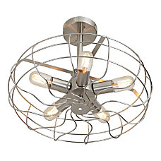 Lumisource Ozzy Hanging Ceiling Lamp Nickel