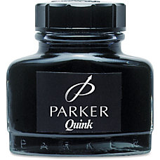 Sanford Parker Permanent Quink Ink Black