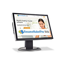 ResumeMaker Professional Web Quarterly Subscription Download
