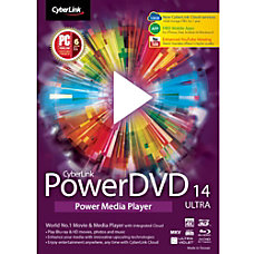 CyberLink PowerDVD 14 Ultra Download Version