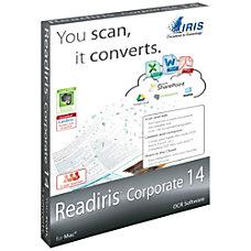 Readiris Corporate 14 for Mac Download