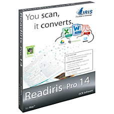 Readiris Pro 14 for Mac Download