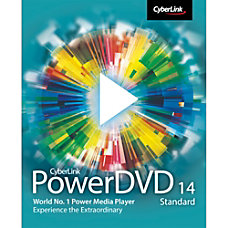 PowerDVD 14 Standard Download Version