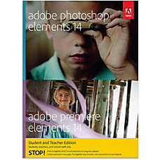 Adobe Photoshop Elements 14 Premiere Elements