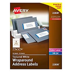 Avery Premium Address Labels Wraparound 1