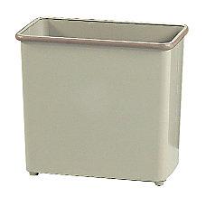 Safco Rectangular Wastebasket 688 Gallons Sand