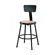 National Public Seating Hardboard Stool With