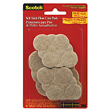Scotch Self Stick Floor Care Pads