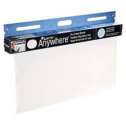 Quartet Anywhere Dry Erase Sheets 15