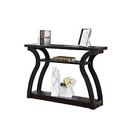 Monarch Specialties Console Table 2 Shelves