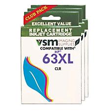 VSM VSM63XL CLR HP 63XL F6U64AN