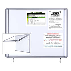 MasterVision Waterproof Outdoor Magnetic Dry Erase