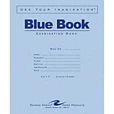 Roaring Spring Examination Blue Book 8